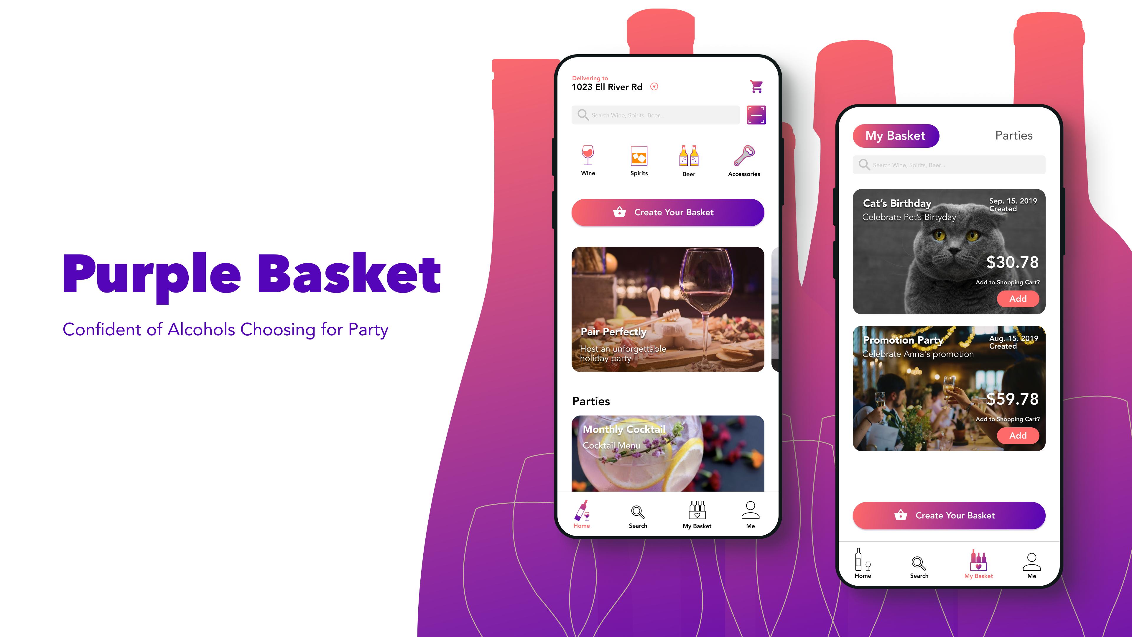 Purple Basket 2019